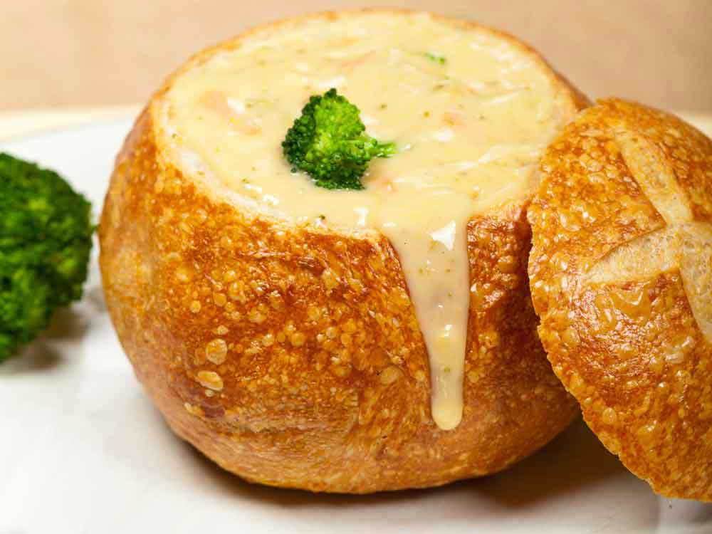 Cheese Flavored Broccoli Soup